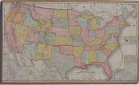 Map Jigsaw Puzzles -- Countries